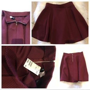 H&M Skirts - 🖤BRAND NEW🖤 DIVIDED by H&M holiday dressy skirt